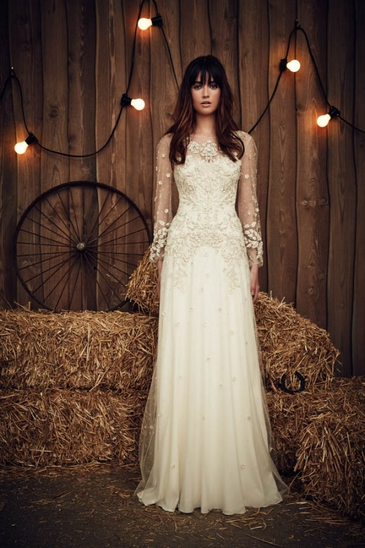 Jenny Packham - 2017 Bridal Collection - Apache Ivory