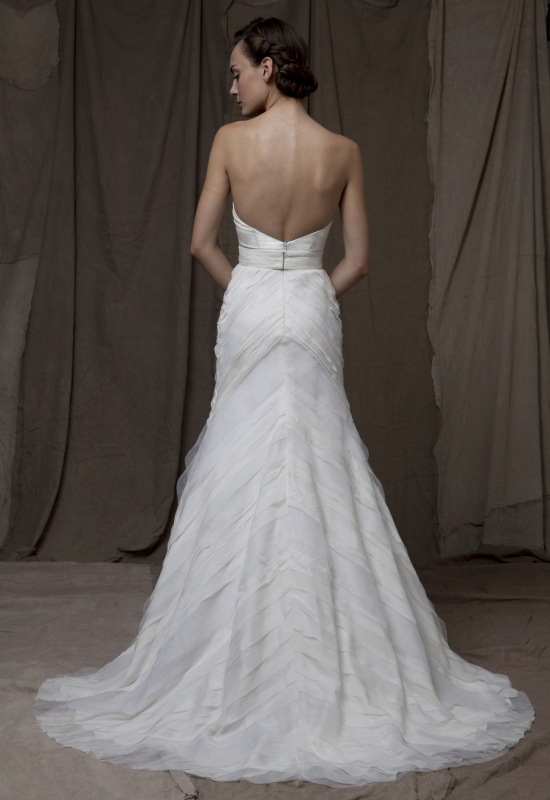 Lela Rose  - Fall 2014 Bridal Collection - The Brook Dress</p>