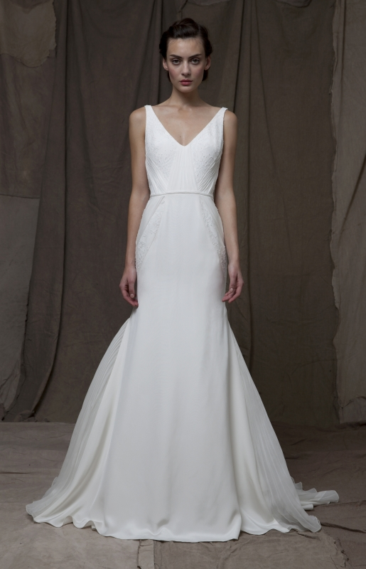 Lela Rose  - Fall 2014 Bridal Collection - The Castle Dress</p>