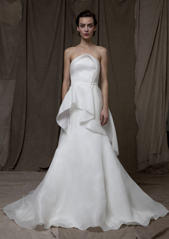 Lela Rose  - Fall 2014 Bridal Collection - The Clock Tower Dress</p>