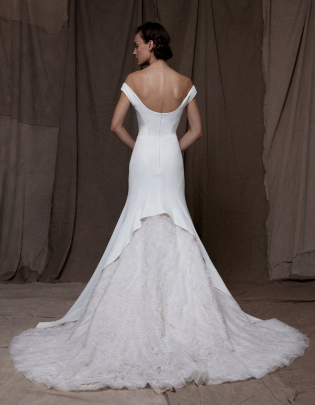 Lela Rose  - Fall 2014 Bridal Collection - The Palace Dress</p>