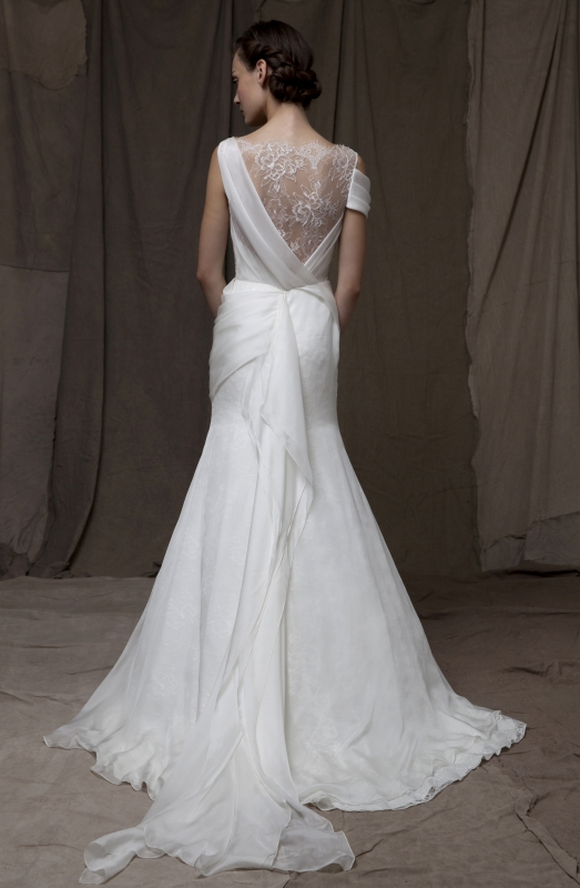 Lela Rose  - Fall 2014 Bridal Collection - The Swing Dress</p>