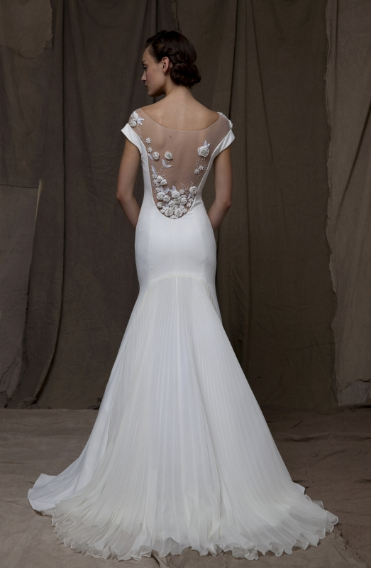 Lela Rose  - Fall 2014 Bridal Collection - The Valley Dress</p>
