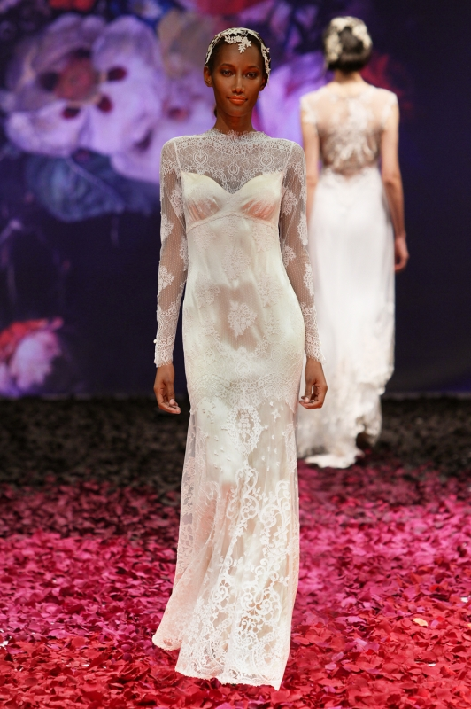 Claire Pettibone - Fall 2014 Bridal Collection - Adeline Wedding Dress</p>