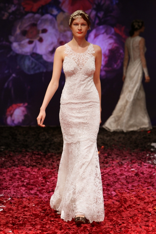 Claire Pettibone - Fall 2014 Bridal Collection - Poppy Wedding Dress</p>