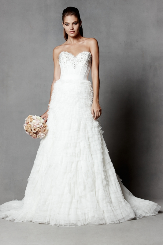 Watters - Spring 2014 Bridal Collection - Chara Wedding Dress
