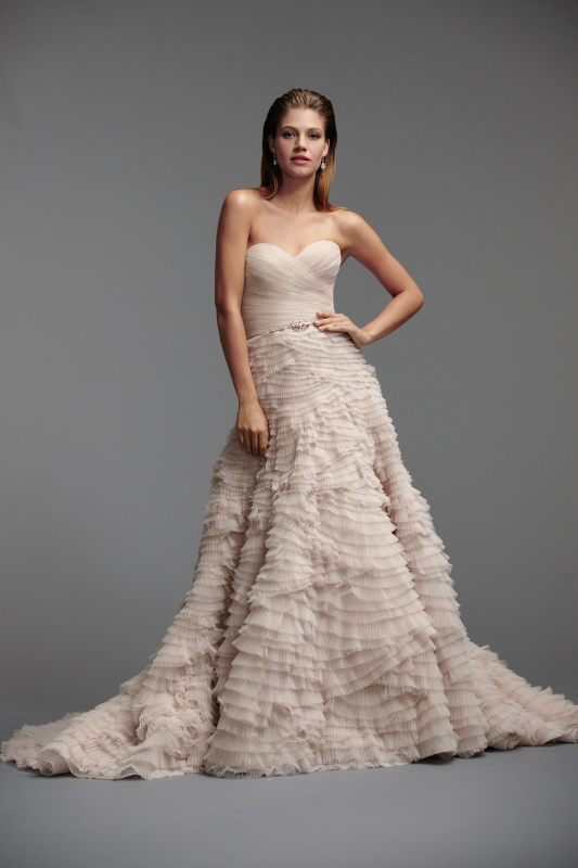 Watters - Spring 2014 Bridal Collection - Davia Wedding Dress
