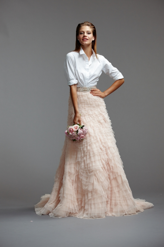 Watters - Spring 2014 Bridal Collection - Milanda (skirt)