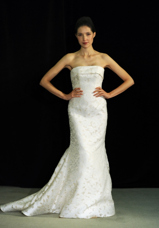 Anne Barge - Fall 2014 Bridal Collection  - Bacchanale Wedding Dress</p>