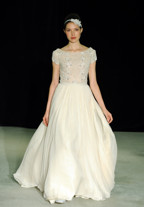 Anne Barge - Fall 2014 Bridal Collection  - Beloved Wedding Dress</p>