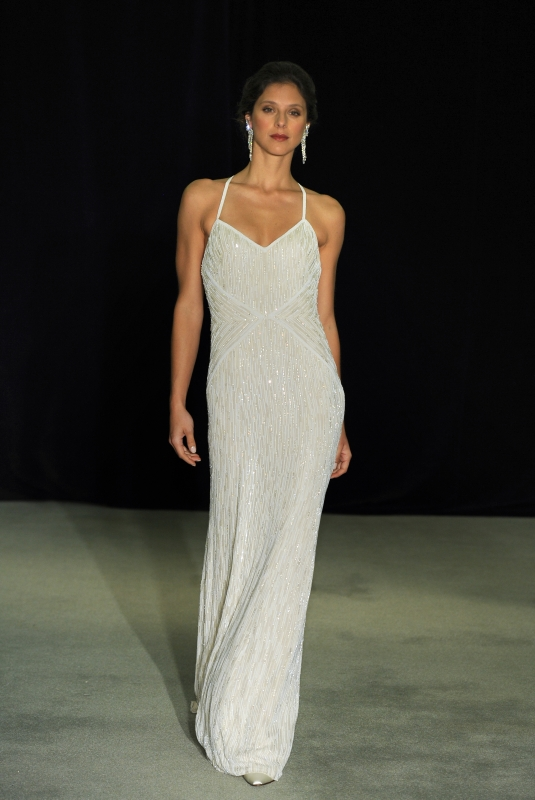 Anne Barge - Fall 2014 Black Label Collection  - Garbo Wedding Dress</p>