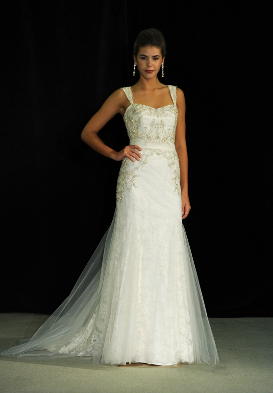Anne Barge - Fall 2014 Black Label Collection  - Gaynor Wedding Dress</p>