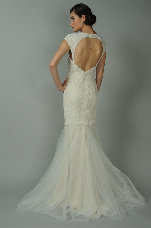 Anne Barge - Fall 2014 Blue Willow Bride Collection  - Cameo Wedding Dress</p>