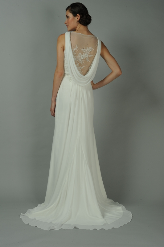 Anne Barge - Fall 2014 Blue Willow Bride Collection  - Gemma Wedding Dress</p>