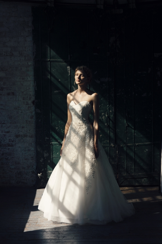 Michelle Roth - Fall 2014 Bridal Collection  - Orion Wedding Dress</p>
