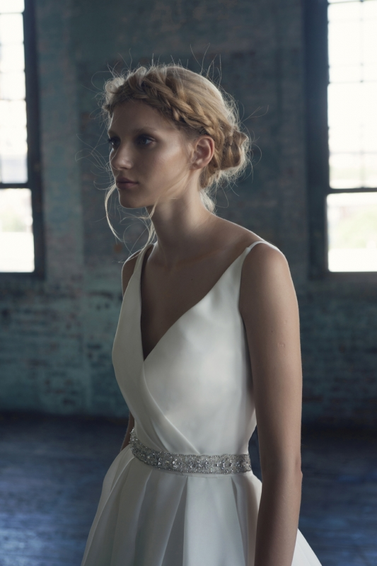 Michelle Roth - Fall 2014 Bridal Collection  - Rhonda Wedding Dress</p>