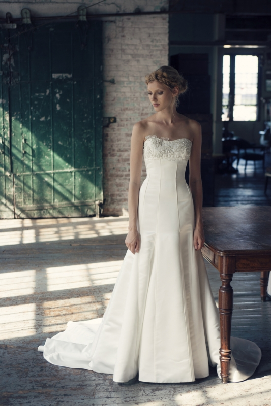 Michelle Roth - Fall 2014 Bridal Collection  - Riley Wedding Dress</p>