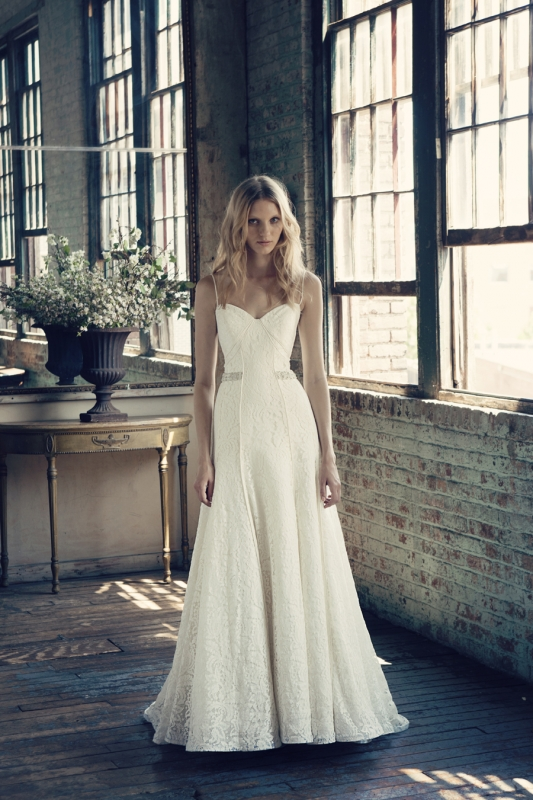 Michelle Roth - Fall 2014 Bridal Collection  - Roberta Wedding Dress</p>