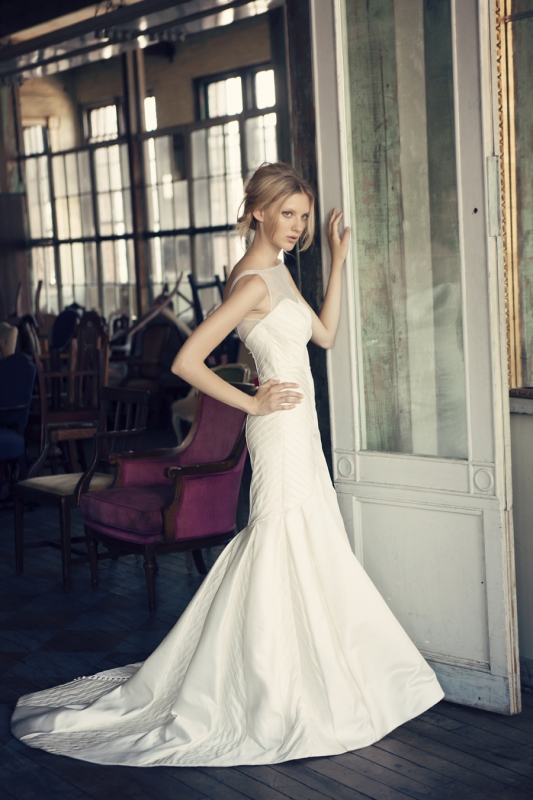 Michelle Roth - Fall 2014 Bridal Collection  - Rory Wedding Dress</p>