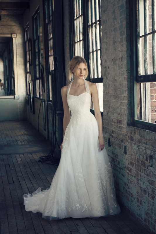Michelle Roth - Fall 2014 Bridal Collection  - Rowena Wedding Dress</p>