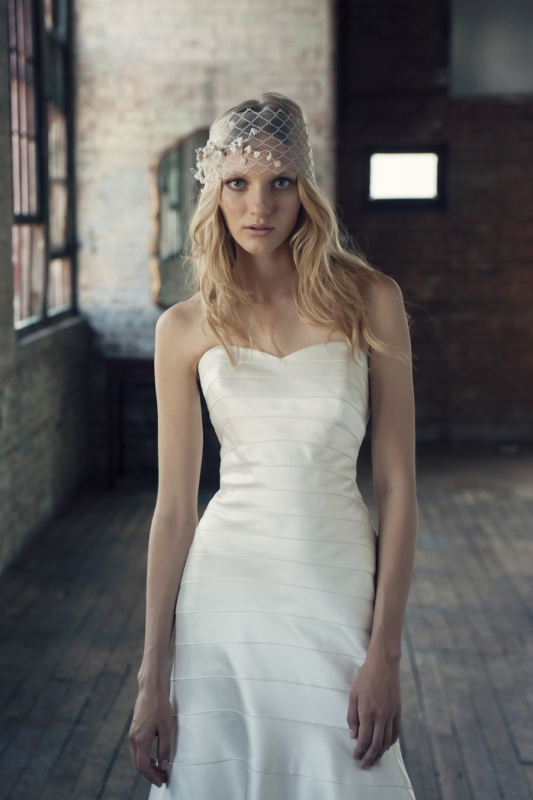 Michelle Roth - Fall 2014 Bridal Collection  - Ryan Wedding Dress</p>