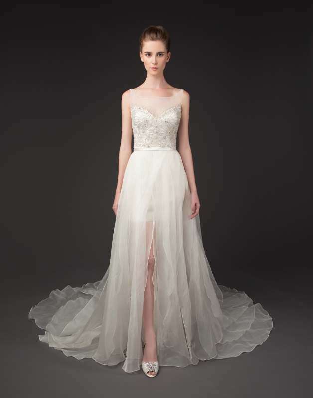 Winnie Couture - 2014 Diamond Label Collection  - Deidra Wedding Dress</p>