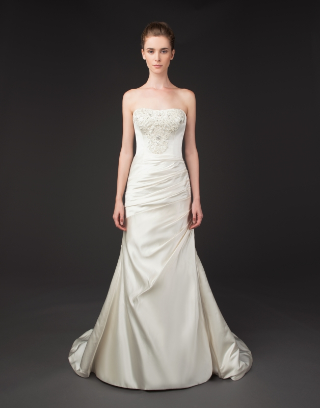 Winnie Couture - 2014 Diamond Label Collection  - Theia Wedding Dress</p>
