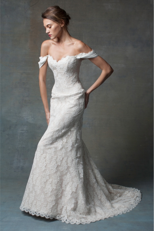 Isabelle Armstrong - Bridal Couture Collection - Flowers often serve to motivate creativity. For