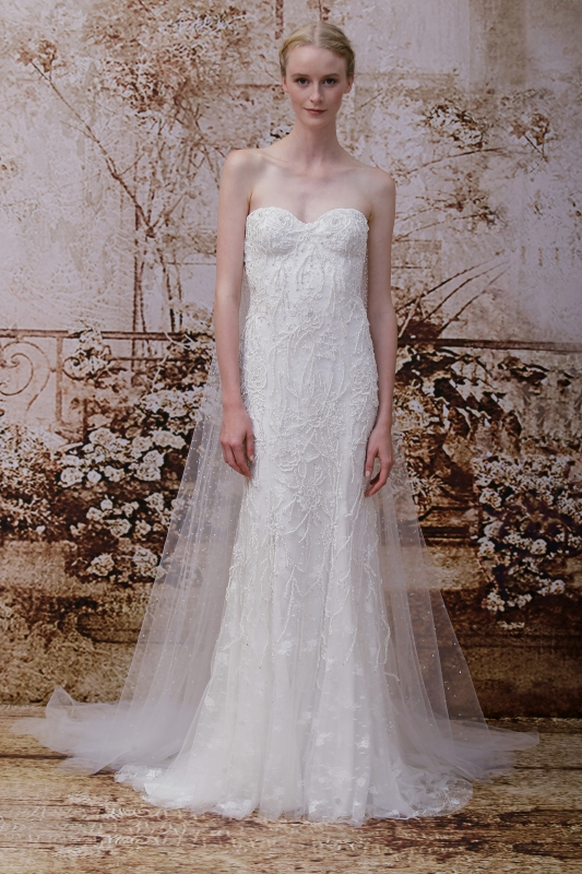 Monique Lhuillier Wedding Dresses - Fall 2014 Bridal Collection
