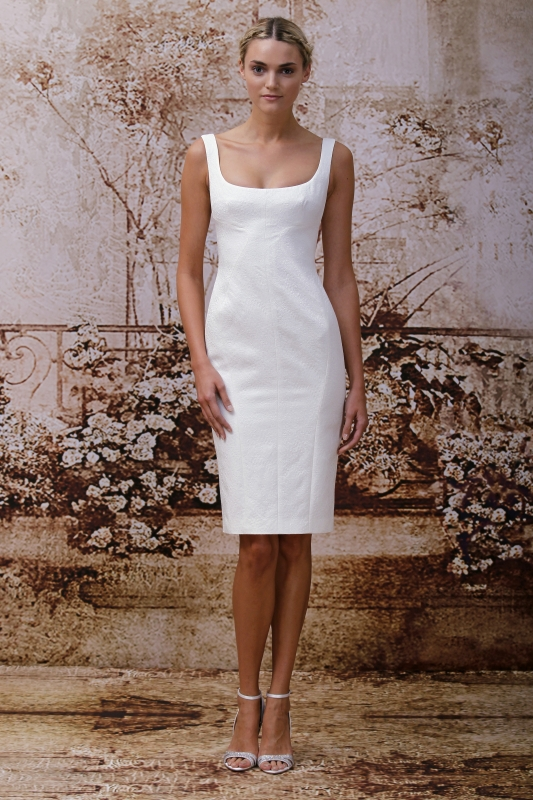 Monique Lhuillier Wedding Dresses Fall 2014 Bridal Collection