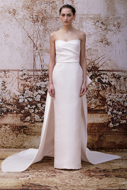 a3ac09dd Shop this Dress · Monique Lhuillier - Fall 2014 Bridal Collection - <a href=
