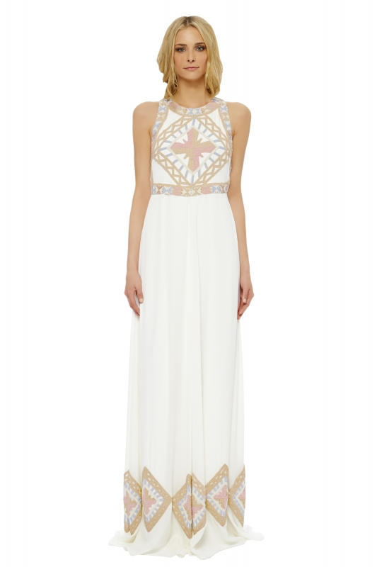 Mara Hoffman  - The Devotional Collection - Hera Beaded Gown</p>