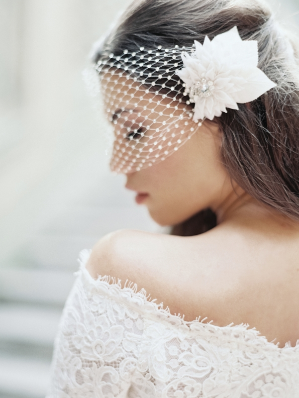 Enchanted Atelier - Fall 2014 Accessories - Marie Luxe Veil </p>