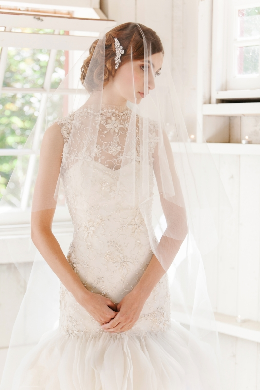 Enchanted Atelier - Fall 2014 Accessories - Poeme Veil </p>