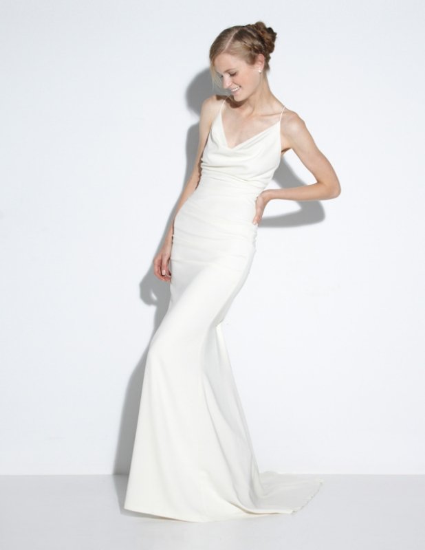 Nicole Miller - Fall 2014 Bridal Collection  - Tara Bridal Gown</p>