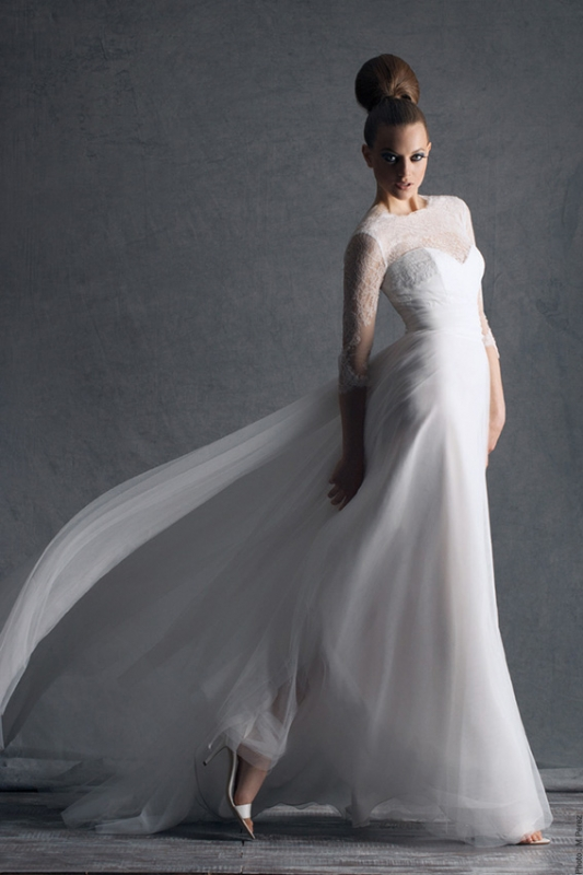 Cymbeline Paris - 2014 Bridal Collection - Himalaya Wedding Dress</p>