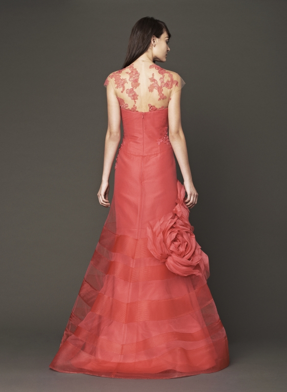 Vera Wang - Fall 2014 Bridal Collection - Wedding Dress Look 10