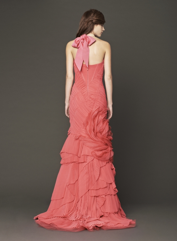 Vera Wang - Fall 2014 Bridal Collection - Wedding Dress Look 12