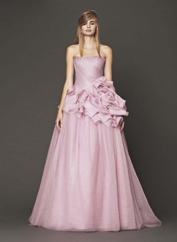 Vera Wang - Fall 2014 Bridal Collection - Wedding Dress Look 3