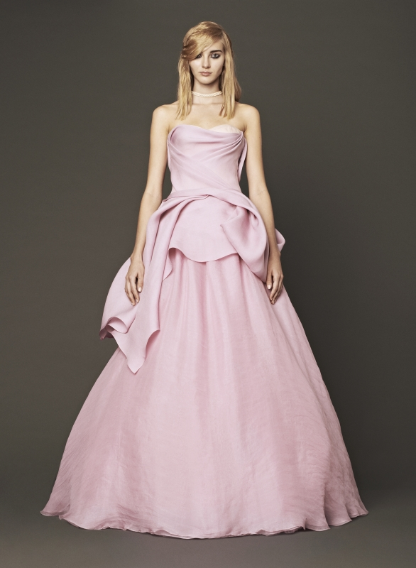 Vera Wang - Fall 2014 Bridal Collection - Wedding Dress Look 4