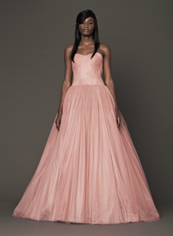Vera Wang - Fall 2014 Bridal Collection - Wedding Dress Look 7