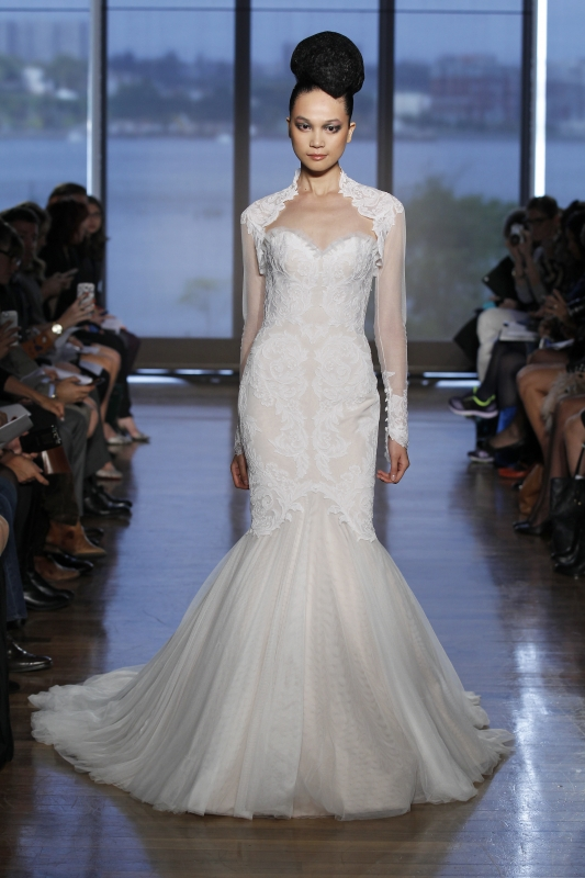 Ines Di Santo - Fall 2014 Couture Bridal - Airlia Wedding Dress</p>