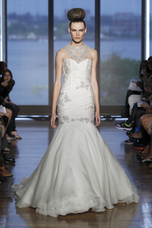 Ines Di Santo - Fall 2014 Couture Bridal - Cybele Wedding Dress</p>