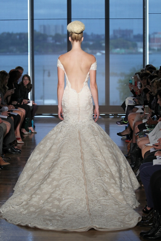 Ines Di Santo - Fall 2014 Couture Bridal - Iva Wedding Dress</p>