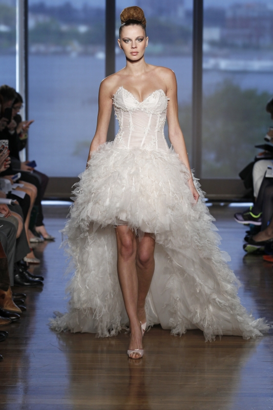 Ines Di Santo - Fall 2014 Couture Bridal - Narell Wedding Dress</p>