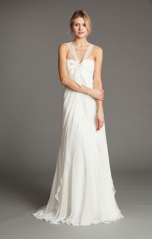 8fe385637ab0c Jenny Yoo - 2014 Bridal Collection - Viola Wedding Dress - Strapless bodice  with a sweetheart