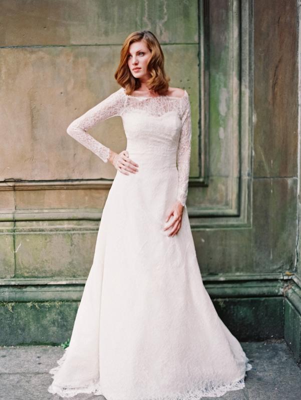 Sareh nouri wedding dresses 2014 bridal collection for Wedding dresses not strapless
