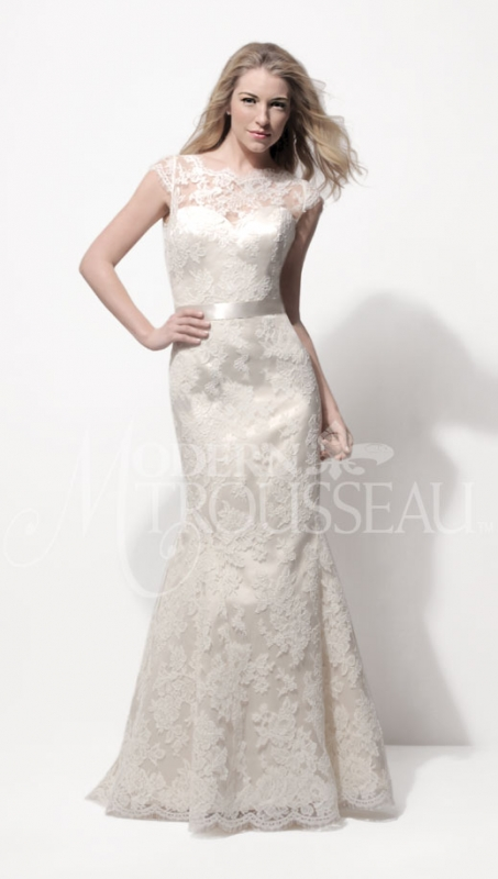 Modern Trousseau - Spring 2014 Bridal Collection - <a href=