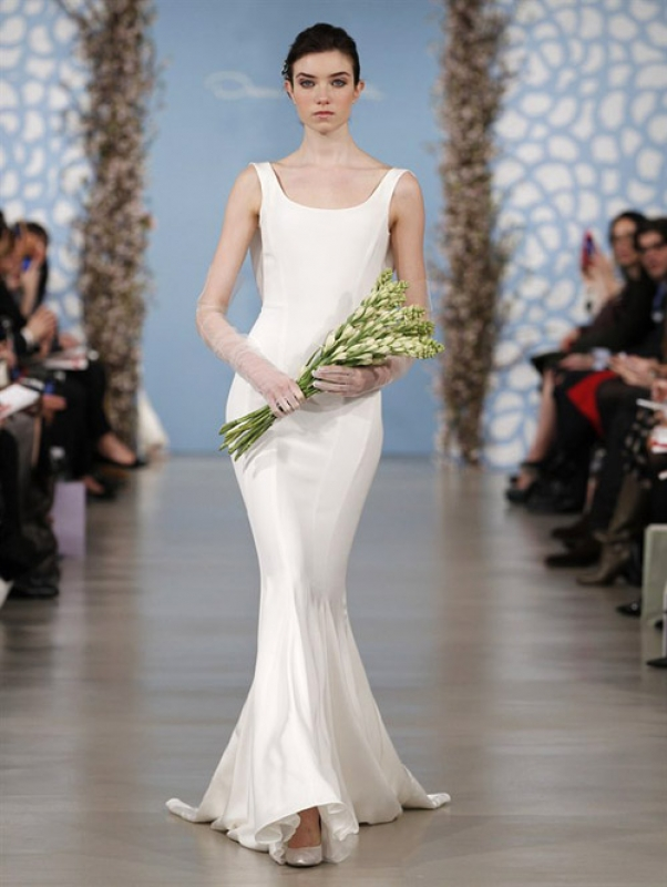 Oscar de la Renta - 2014 Bridal Collection - <a href=