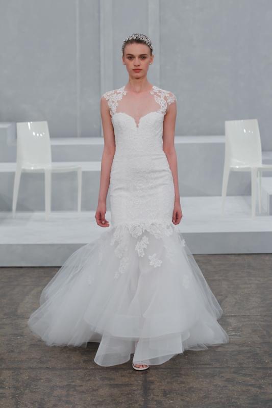 Monique Lhuillier Wedding Dresses - Spring 2015 Bridal Collection